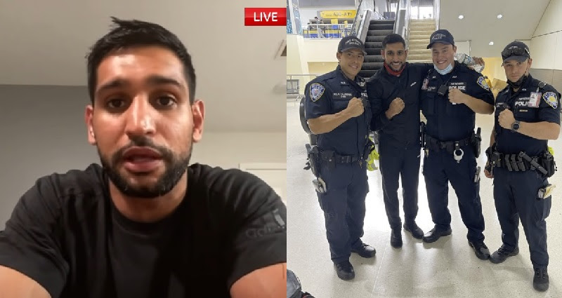 Amir Khan and American Airlines