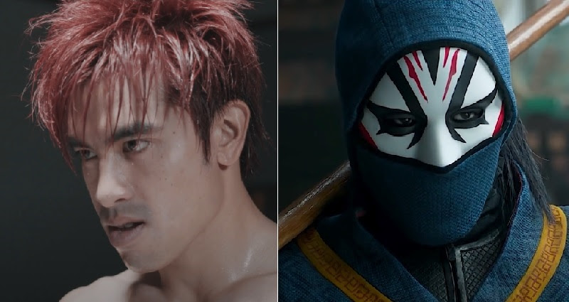 Andy Le played masked villian