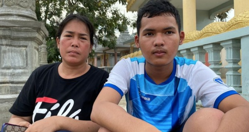 Sovann Chhay who's autistic is on trial