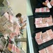 chinese millionaire bank withdrawal