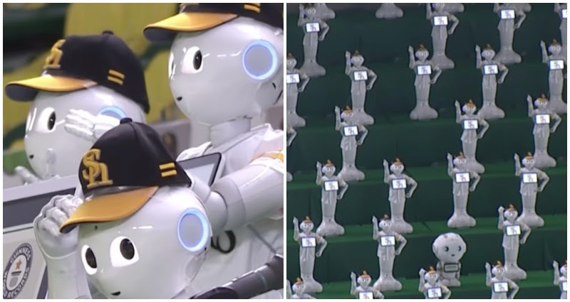 Guinness posted robots
