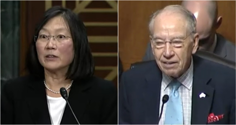 """Lucy Koh gets a """"compliment"""" from Senator"""