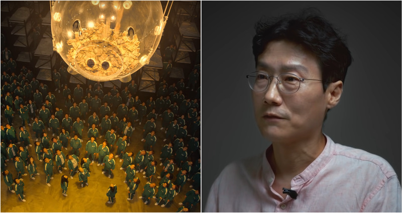 squid game director Hwang Dong-hyuk's series 10 years rejected